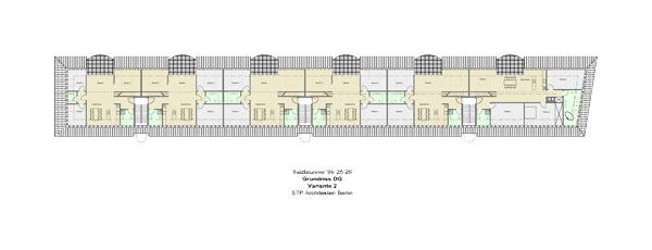 Planung Dachgeschoss Schmargendorf Grundriss DG