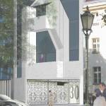 Planung Cölln Palais Vorderseite