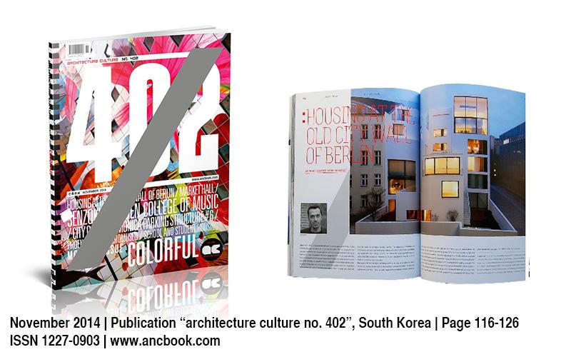 Veroeffentlichung Architecture Culture