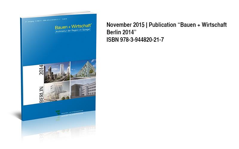Veroeffentlichung Bauen und Wirtschaft Berlin 2014