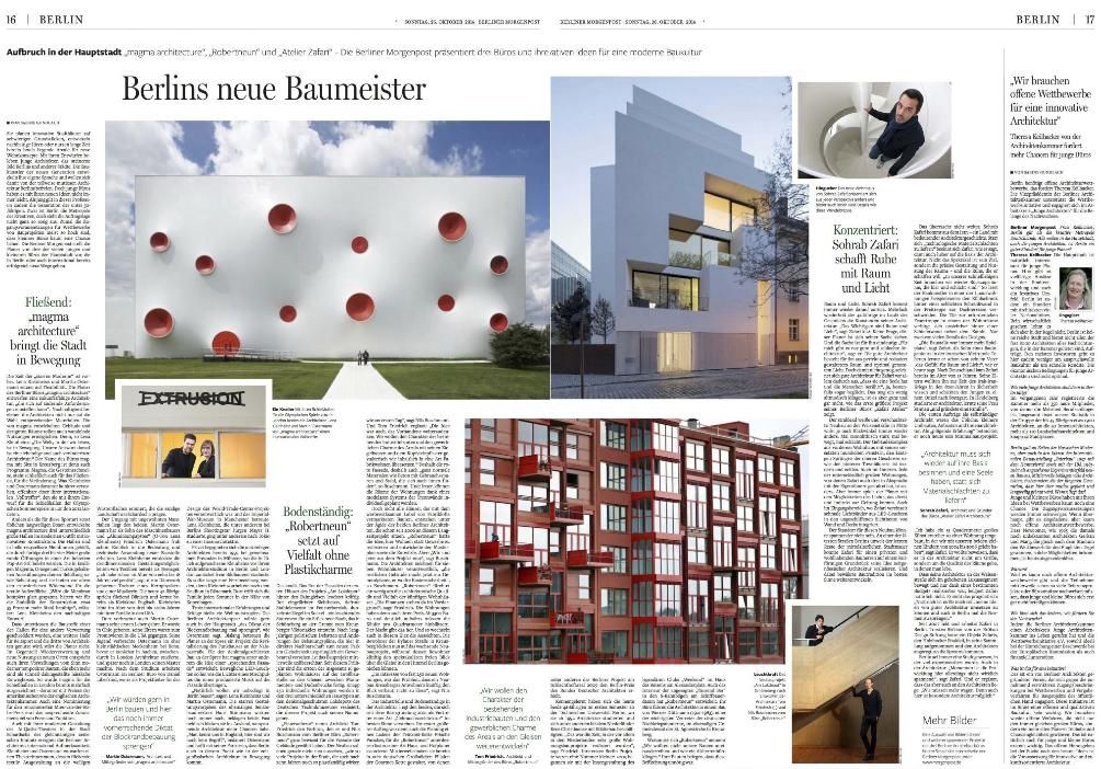 Veroeffentlichung Berliner Morgenpost
