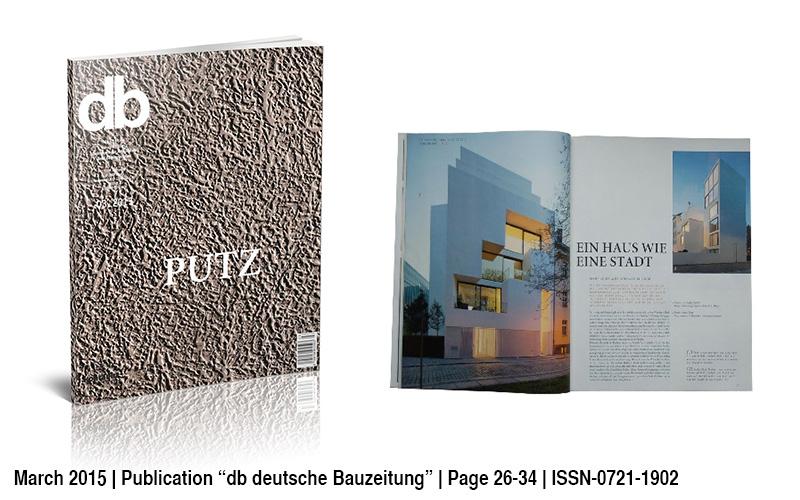 Veroeffentlichung DB Deutsche Bauzeitung