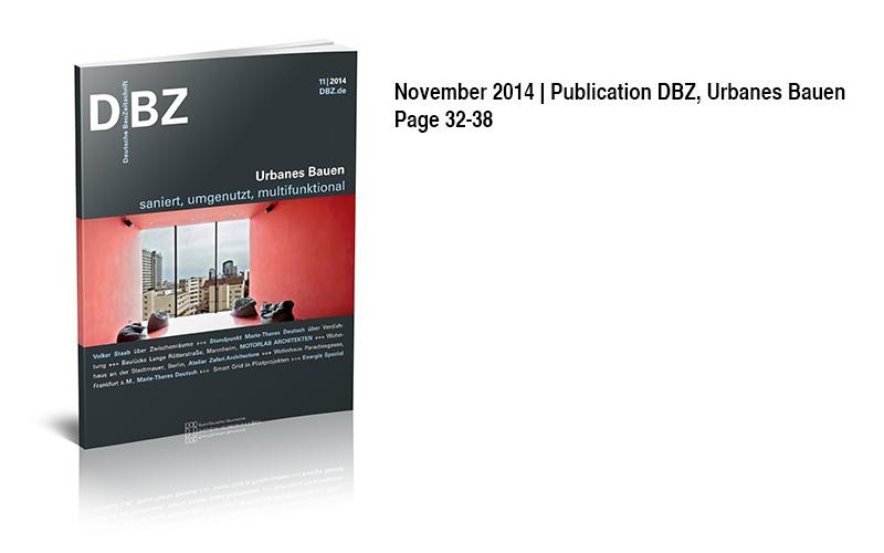 Veroeffentlichung DBZ