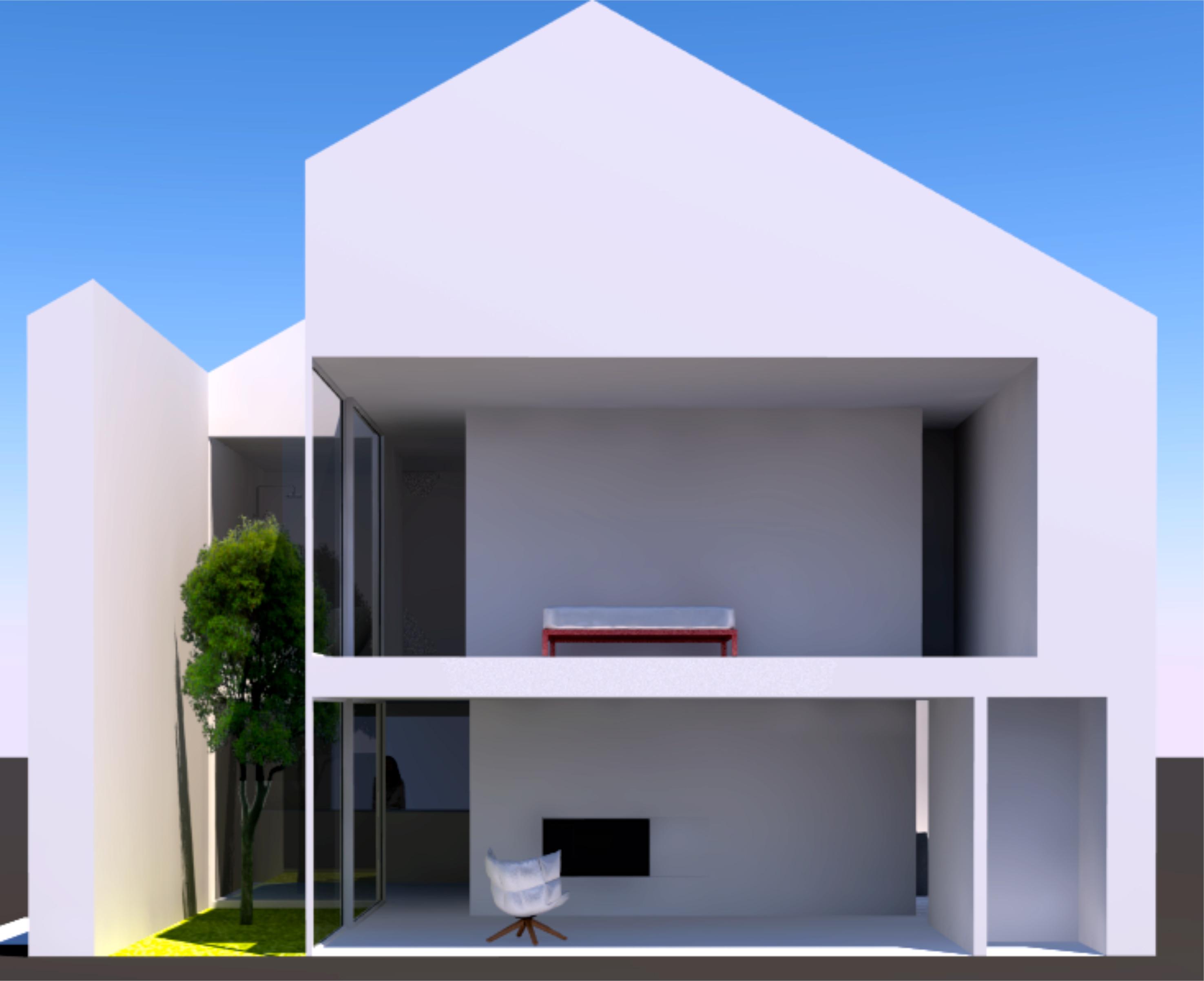 Ein Haus am Schwielowsee - Variante 1
