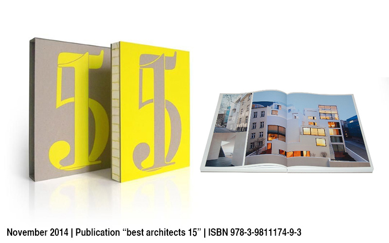 Veroeffentlichung Best Architects 15