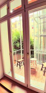 Balkon/Innenhof